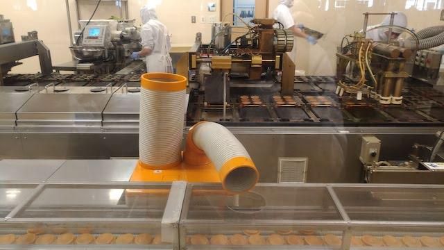 千日餅 工場