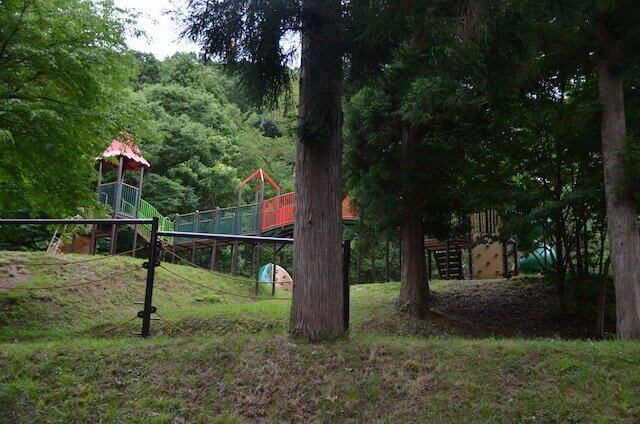 西蔵王公園アスレチック