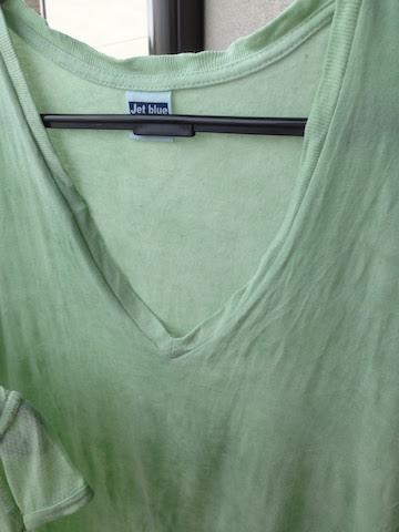 タデ藍生葉染Tシャツ
