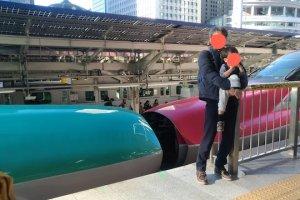新幹線 こまちとはやぶさ