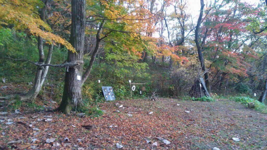 青葉の森、忍者イベント