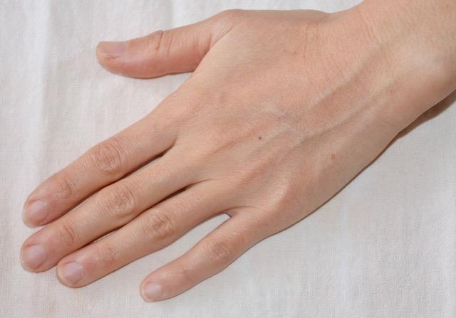 玄米麹パック使用前の手