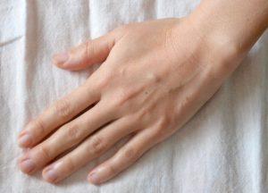 玄米麹パック使用後の手