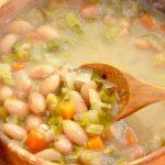 カナリア豆のスープ