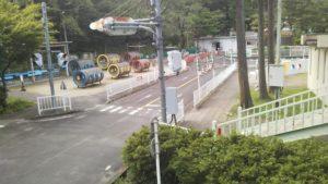 三居沢交通公園の児童遊具