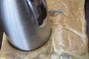 味噌作り 大豆の潰し方