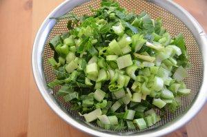 小松菜 サーグ 作り方