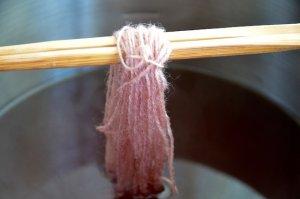 毛糸 セントジョーンズワート染め 方法