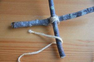 クロスウィービングの編み方