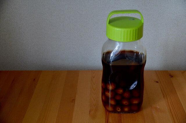 梅黒酢シロップ
