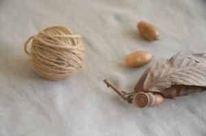 どんぐり染め方 銅媒染 毛糸