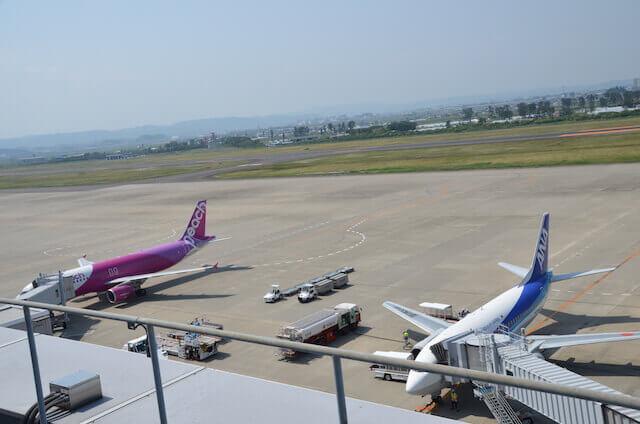 飛行機 仙台空港