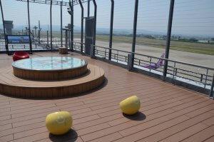 仙台空港 屋上