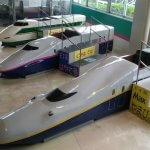 新幹線の模型